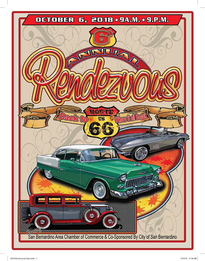 2018 Rendezvous back to Route 66 Car Show