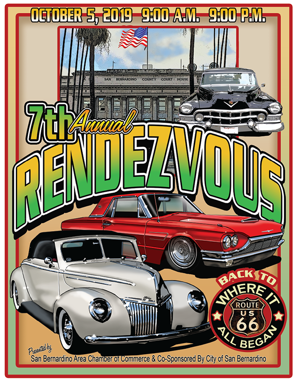 2019 Rendezvous back to Route 66 Car Show